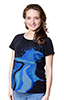 EMF-reducing maternity graphic tee