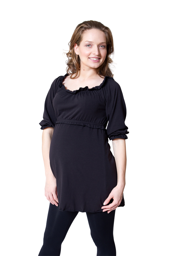 EMF-reducing maternity clothing